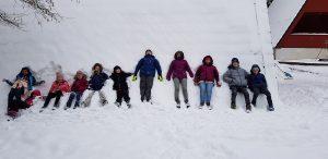 Nürnberger Jungpfadfinder im Schnee