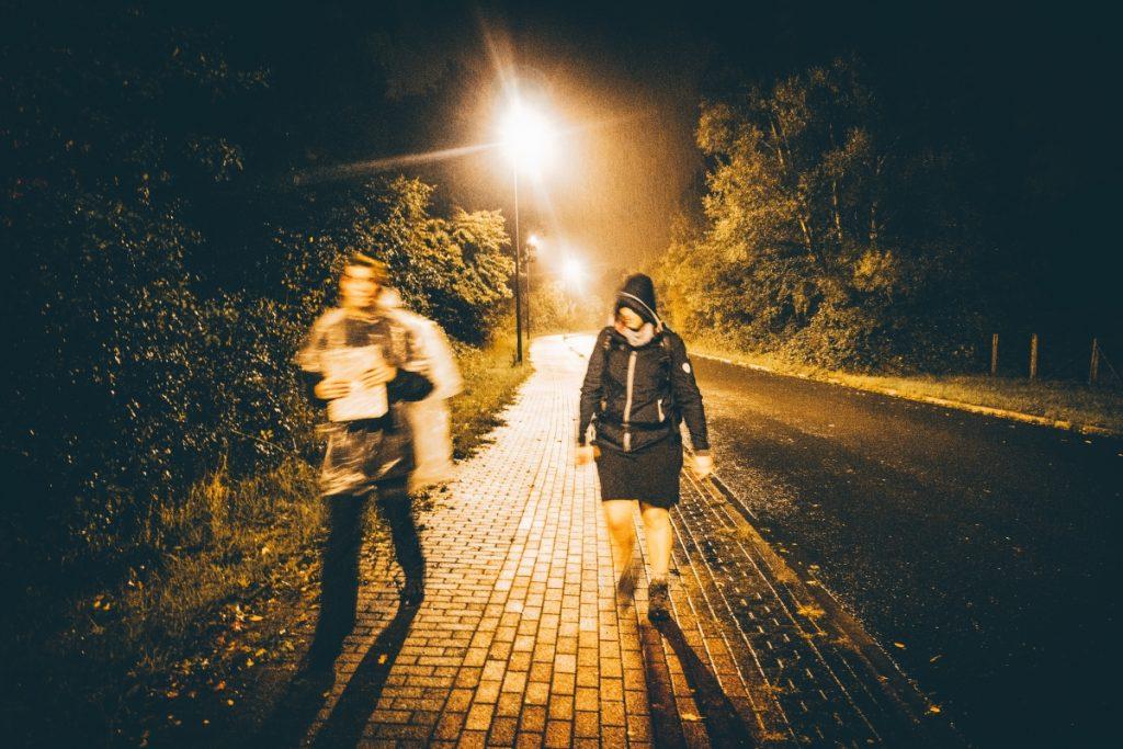 Laufen durch die Nacht